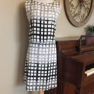 Covington Size 14 Square Pattern Dress